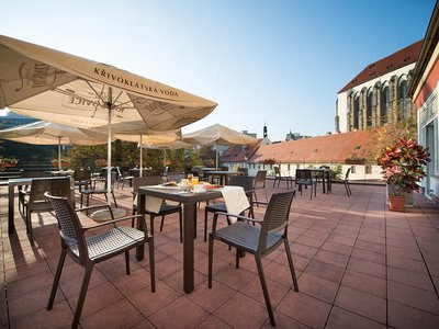 EA Hotel Julis**** - terrace