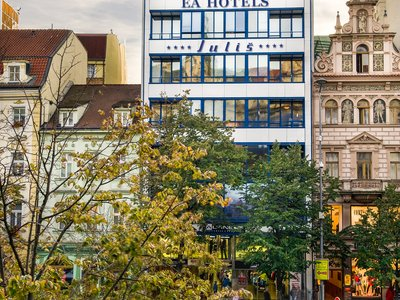 EA Hotel Julis**** - hotel building - view from the Wenceslas Square