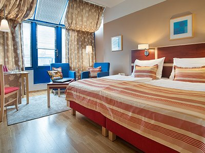 EA Hotel Julis**** - executive room no. 805 with balcony on Wenceslas Square