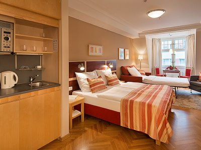 EA Hotel Julis**** - family double room with sofa bed