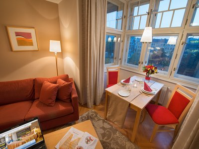 EA Hotel Julis**** - double room (twin) with a view of the Franciscan Gardens